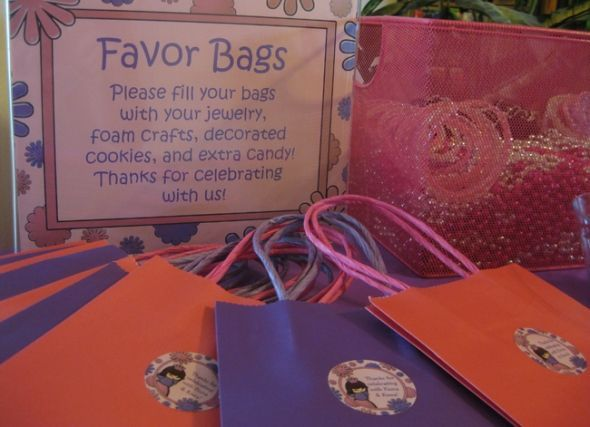 pink and purple princess birthday party ideas