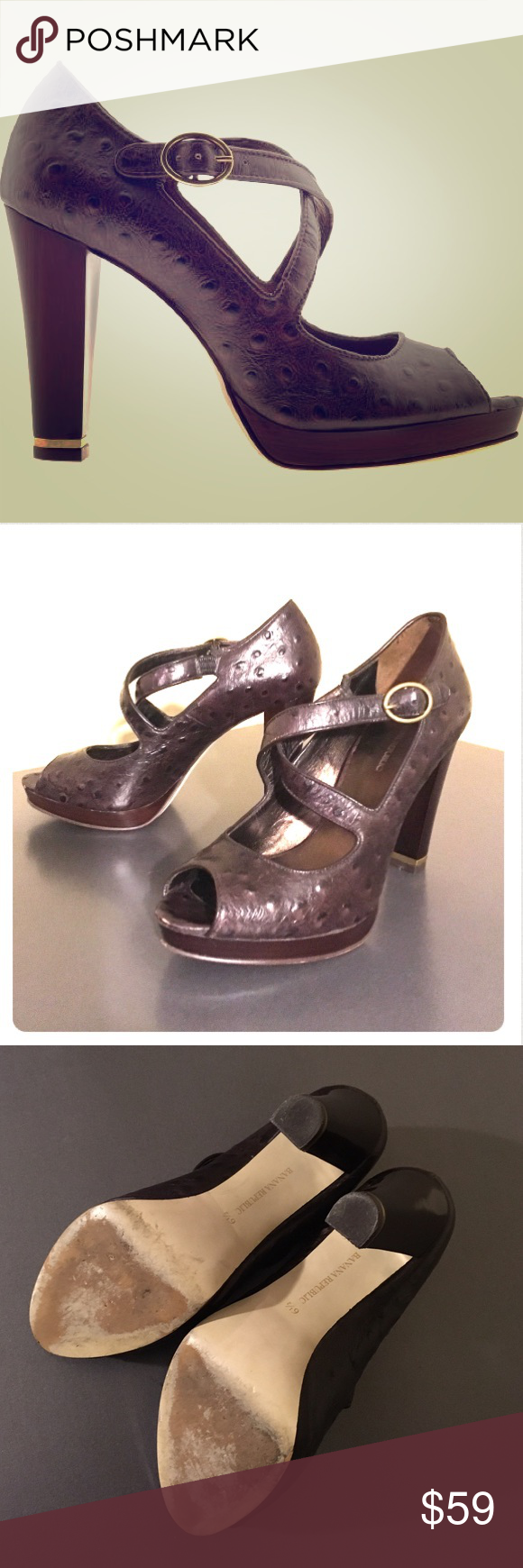 """Banana Republic 'Dallas' Platform / 6.5 EUC 