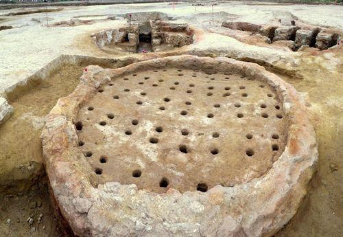 Horno romano,siglo I DC Encontrado entre Granada y Antequera ...