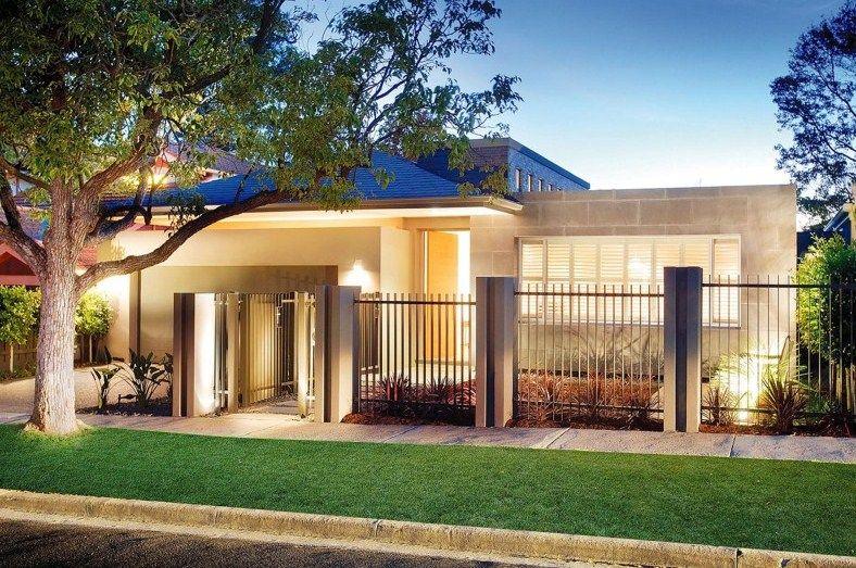 Modelos de casas sencillas con rejas fachada de casas - Fotos de casas preciosas ...