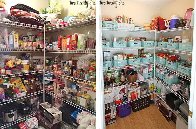 pantry makeover pantry makeover kitchen organization pantry food pantry organizing on kitchen organization before and after id=92080