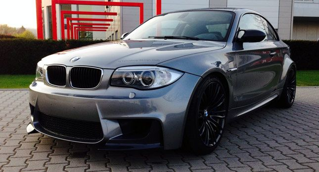 Bmw 118d Coupe Turned Into 1m Replica With M5 S V10 Audi A8 Y Audi