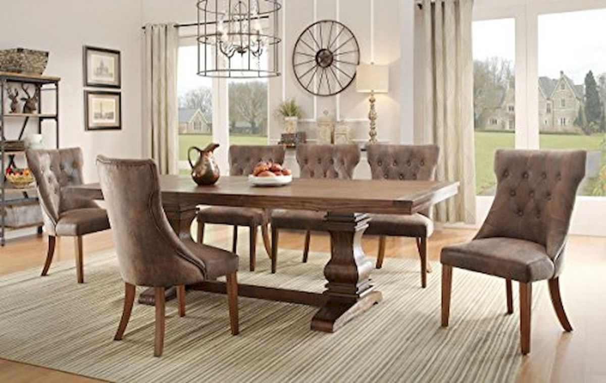 100 best farmhouse dining room decor ideas 111