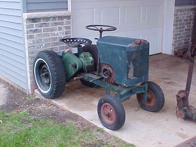 Tiger 552 Garden Tractor Tracteur
