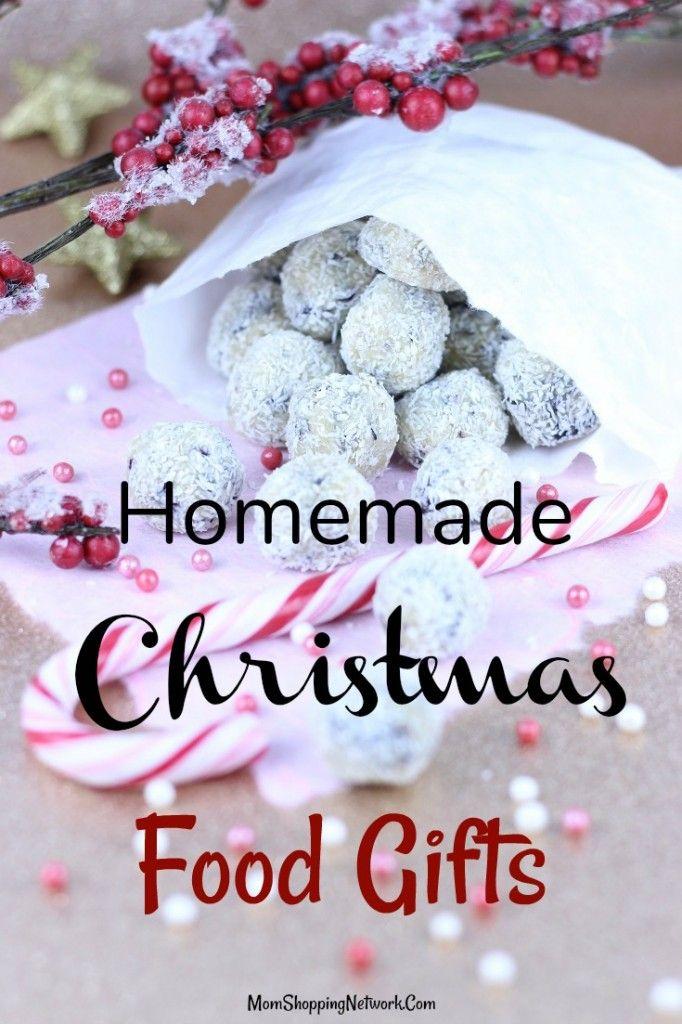 Homemade Christmas Food Gifts | Homemade christmas | Pinterest ...