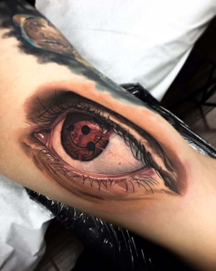 Sasuke S Sharinghan Eye From Naruto On My Buddy Xtremes10 Done With