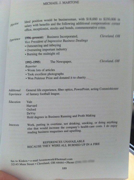 Funny Or Die Beautiful Resume Design Best Resume Funny