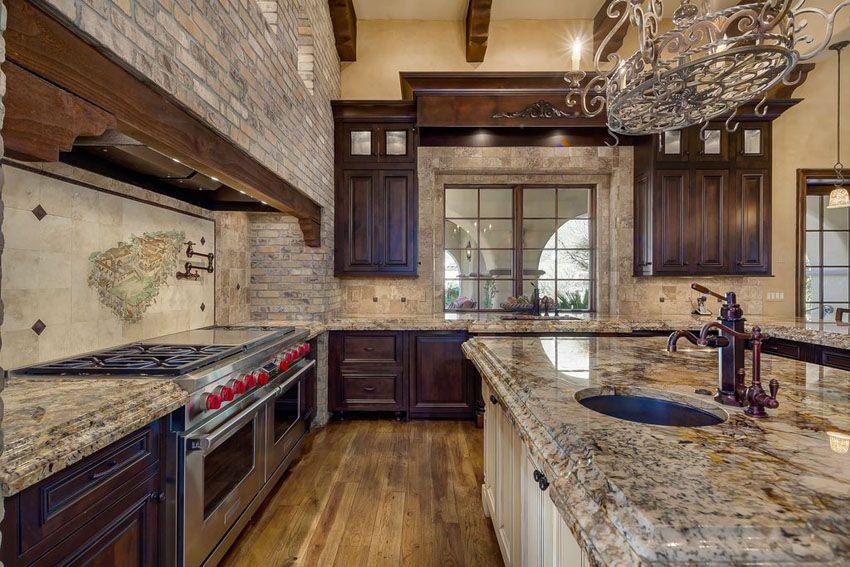 29 Elegant Tuscan Kitchen Ideas Decor & Designs  Granite Interesting Tuscan Kitchen Designs Decorating Design