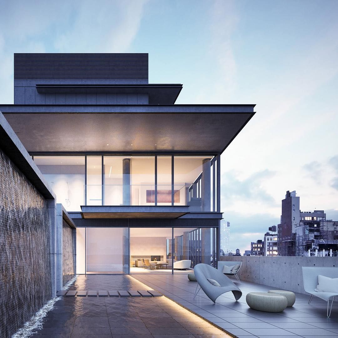 New Modernhome Exterior Design: TGIF! Have A Good One! Rooftop Terrace At Tadao Ando's