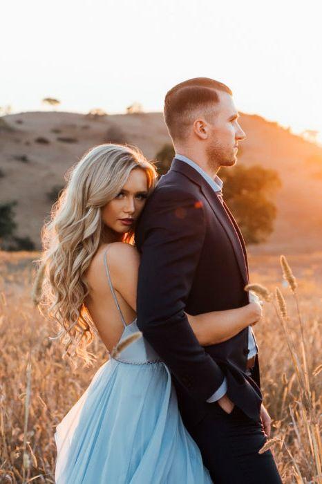 Cheap sky blue wedding dresses with slit. #weddingdresses #weddingdress #weddings #weddinginspiration  #beachwedding  #vintagewedding  #backless #20thanniversarywedding
