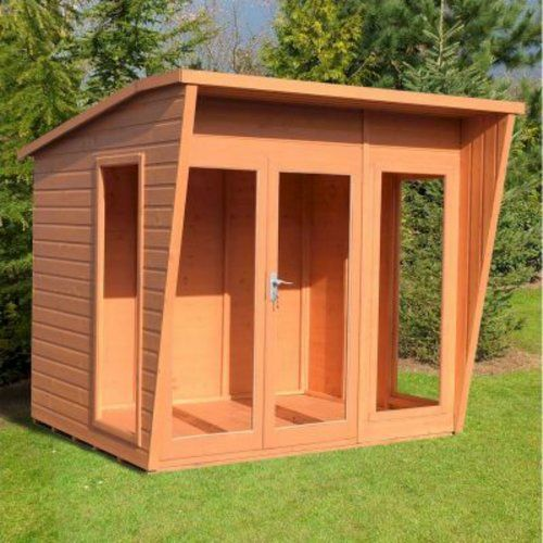 Fishburne 7 5 X 6 Ft Shiplap Summer House Lynton Garden Installation Available Yes Corner Summer House Shiplap