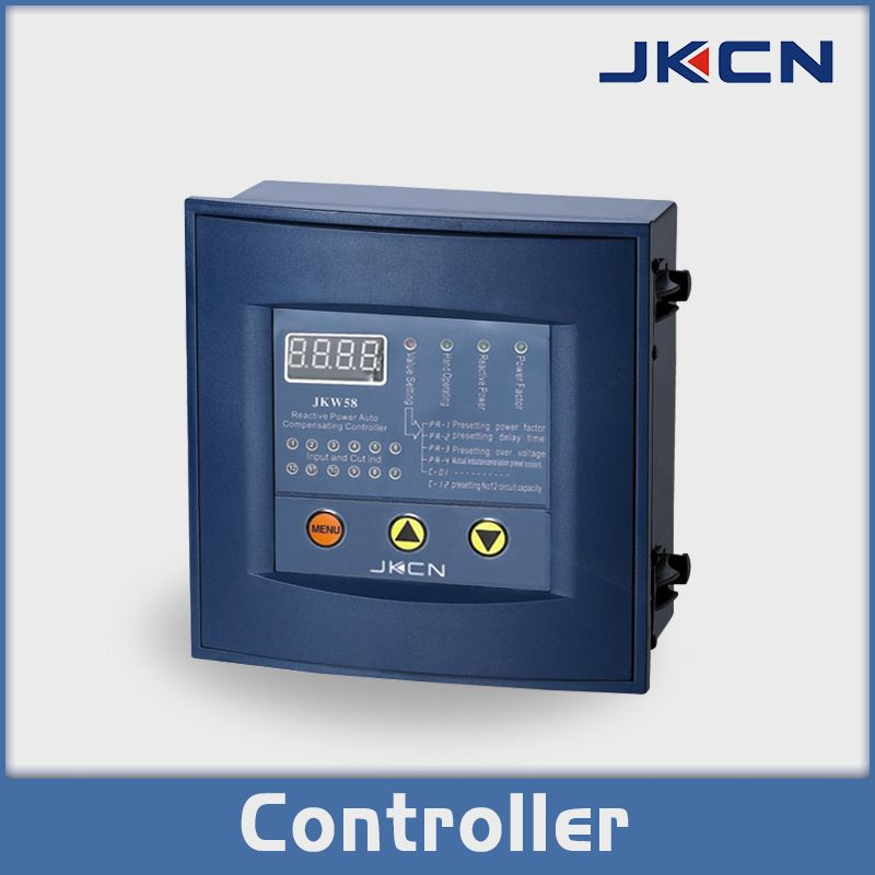 Jkw58 Reactive Power Compensation Controller The Reactive Power Auto Compensation Controller Is The Auxiliary Product F Capacitor Advanced Technology Control