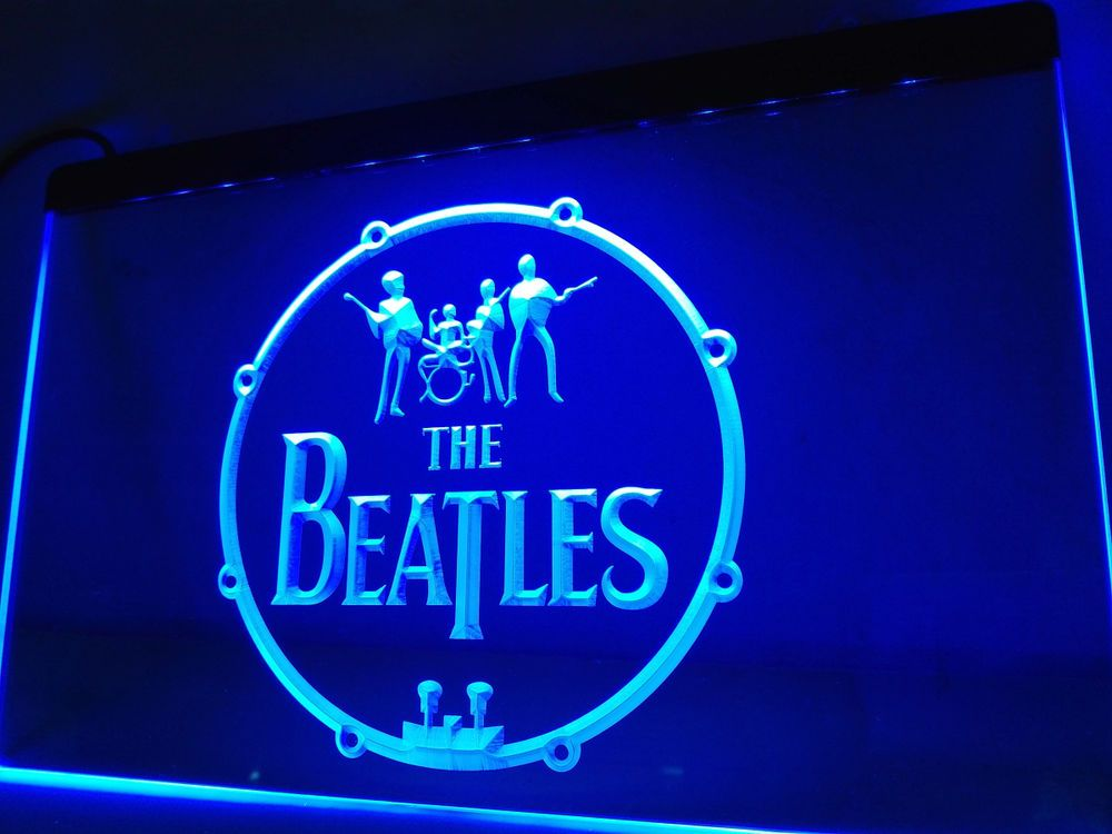 Led Sign Home Decor Extraordinary The Beatles Band Music Drums Led Neon Light Sign Home Decor Crafts Decorating Inspiration