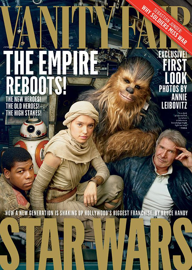 Star Wars: The Force Awakens Cast Covers Vanity Fair: See the Pics!