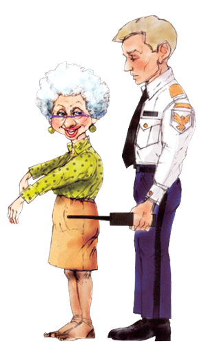 Must Be A Lonely Old Lady To Like That Kind Of Attention Funny Cartoon Pictures Art Impressions Funny Character