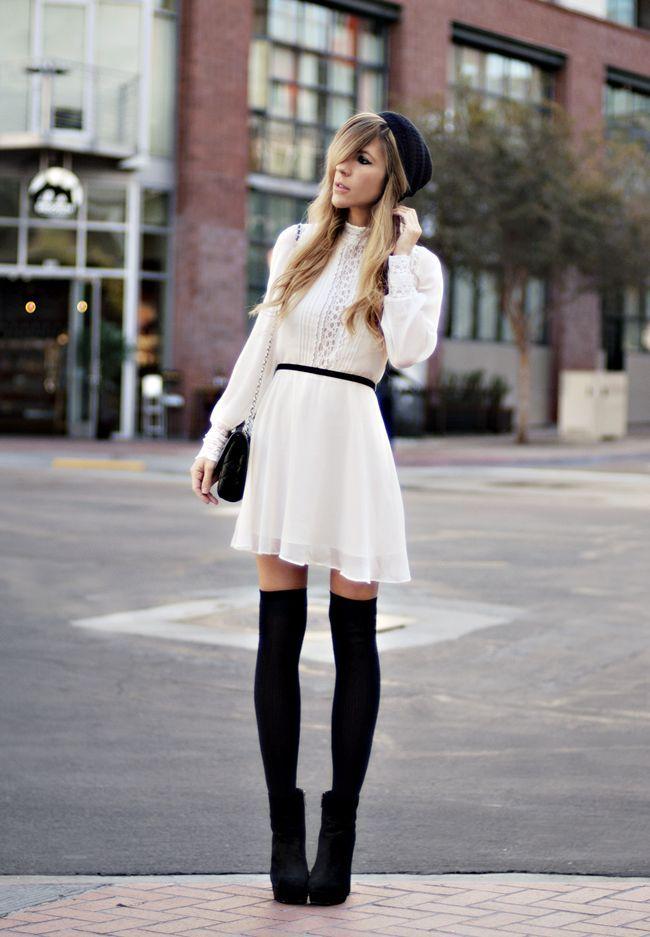 High Socks Dress