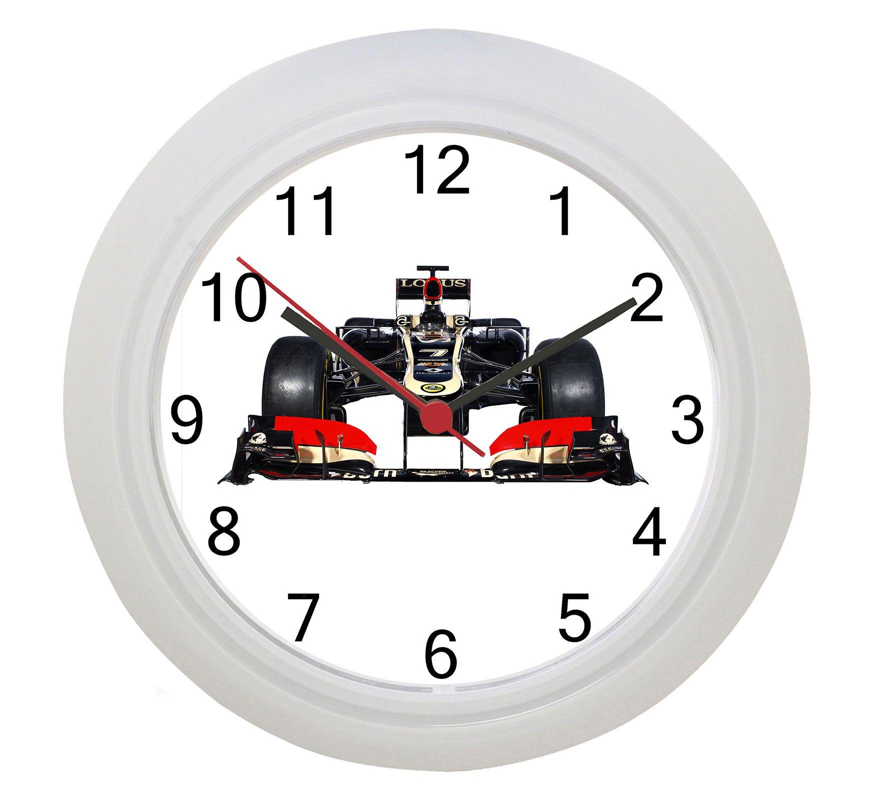 Lotus Formula One F1 Gran Prix Wall Clock Clock Wall White
