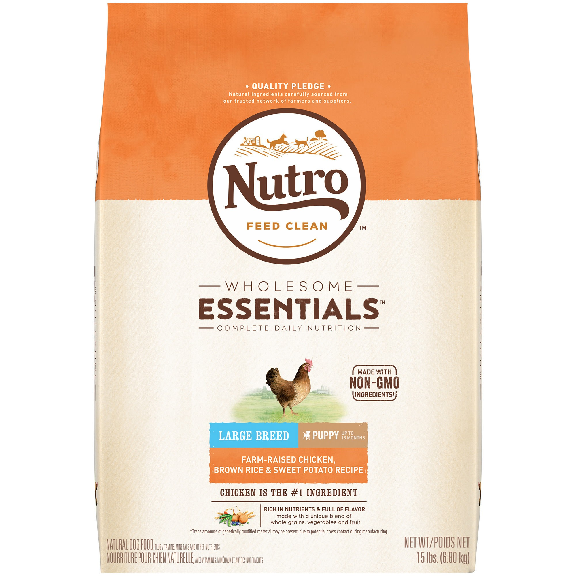Nutro Farm Raised Chicken Brown Rice And Sweet Potato Recipe