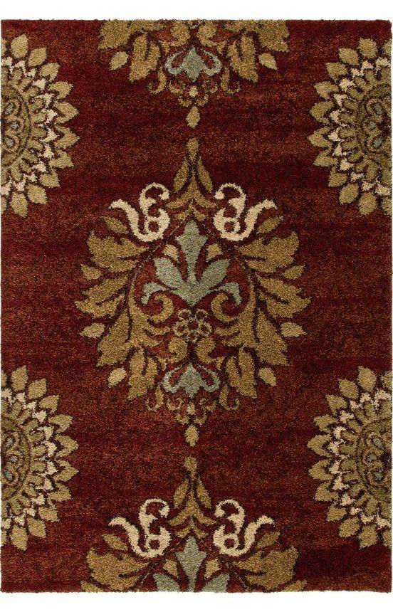 Orian Rugs Wild Weave Jacqueline Rouge Rug Orian rugs