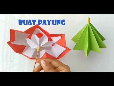 Ide Kreatif Origami Kreatif Payung