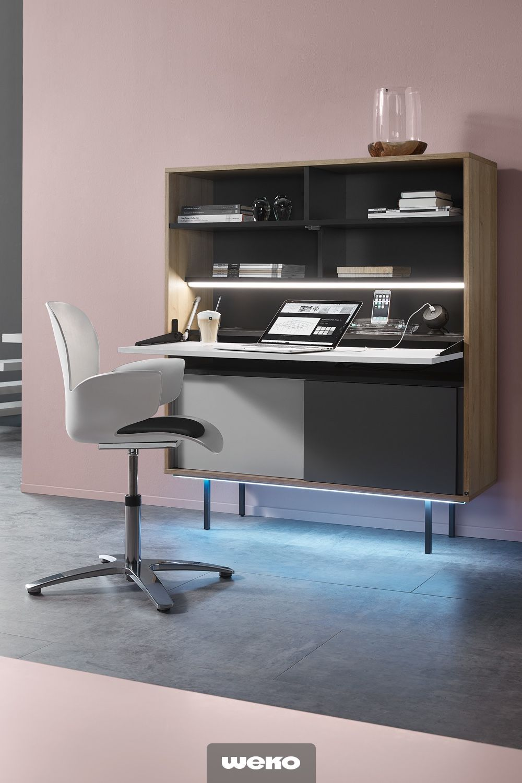 ein sekretär ist der ideale helfer im home office | sekretär