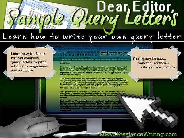 Sample Query Letter Termplates  Writing Ideas ResourcesPrompts