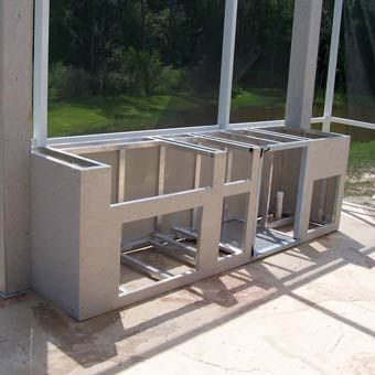 Outdoor Kitchen Construction Tutorial Build Outdoor Kitchen Outdoor Kitchen Plans Outdoor Kitchen Cabinets