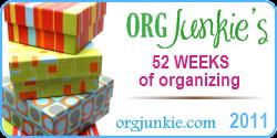 52 Weeks: #2 Follow the organizing PROCESS + printable!