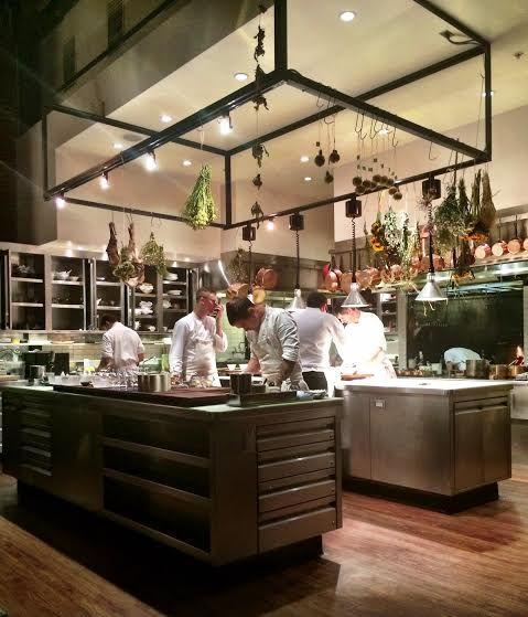 Luxury Industrial Kitchen: Saison Restaurant, San Francisco