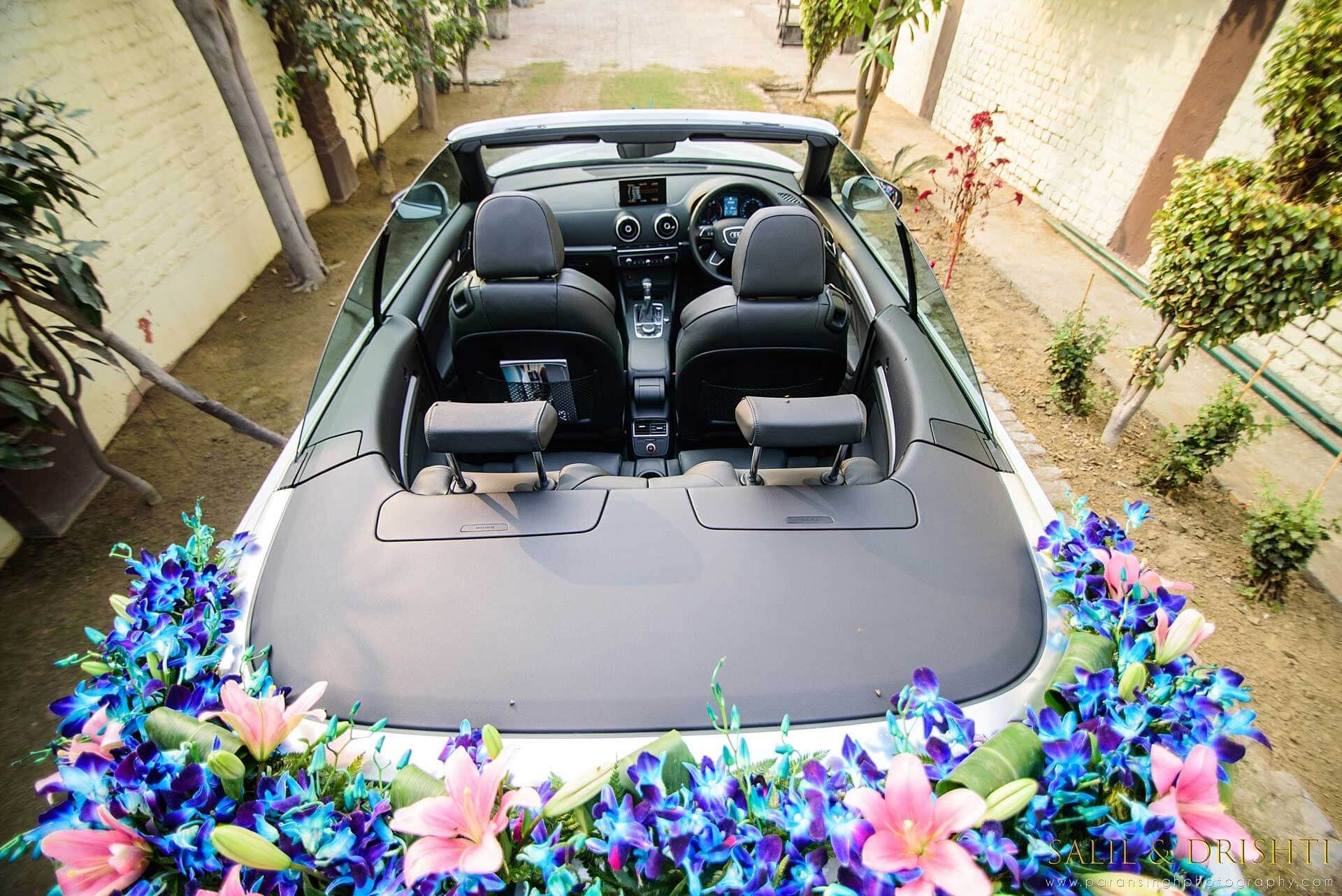 Beautiful And Showstopper Car Decoration Ideas For Wedding ...