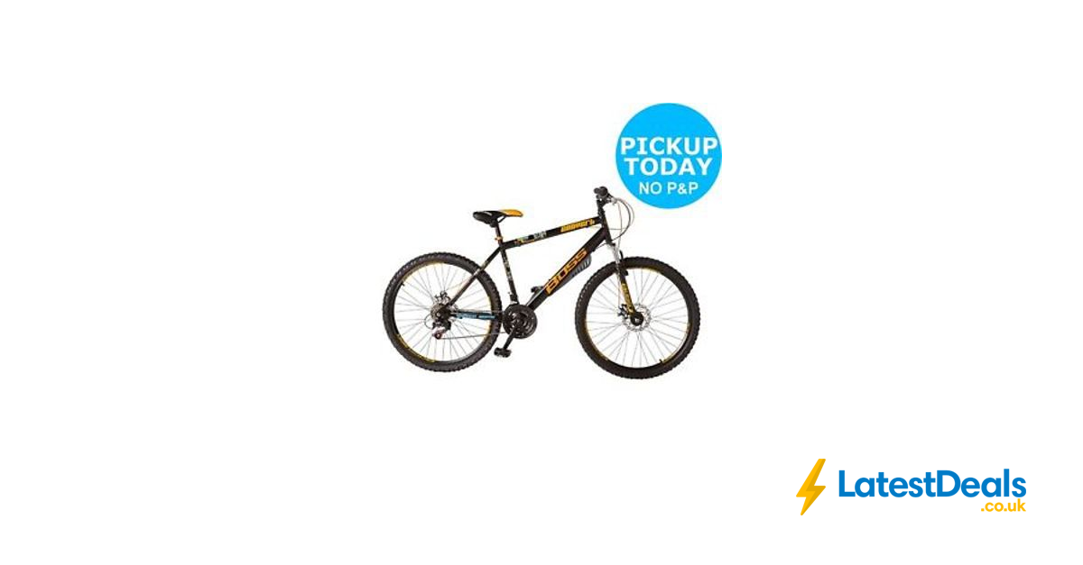 3f7b21c6fb8 Boss Convert 26 Inch Steel Frame Mountain Bike from Argos/ebay, £159.99