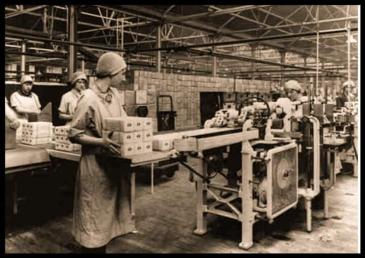 Jacobs factory in the 1930 s