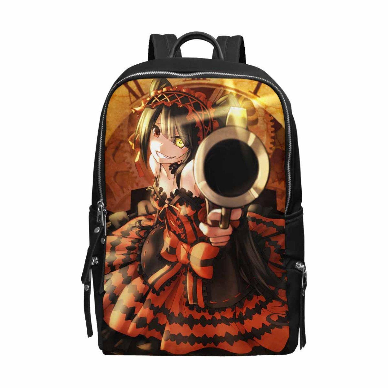 Kurumi Tokisaki Anime Bag, Cute Anime Backpack, Date A