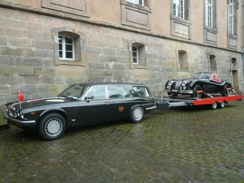 Europe Celebrates 65 Years Of The Jaguar Xk Classic And Sports Car