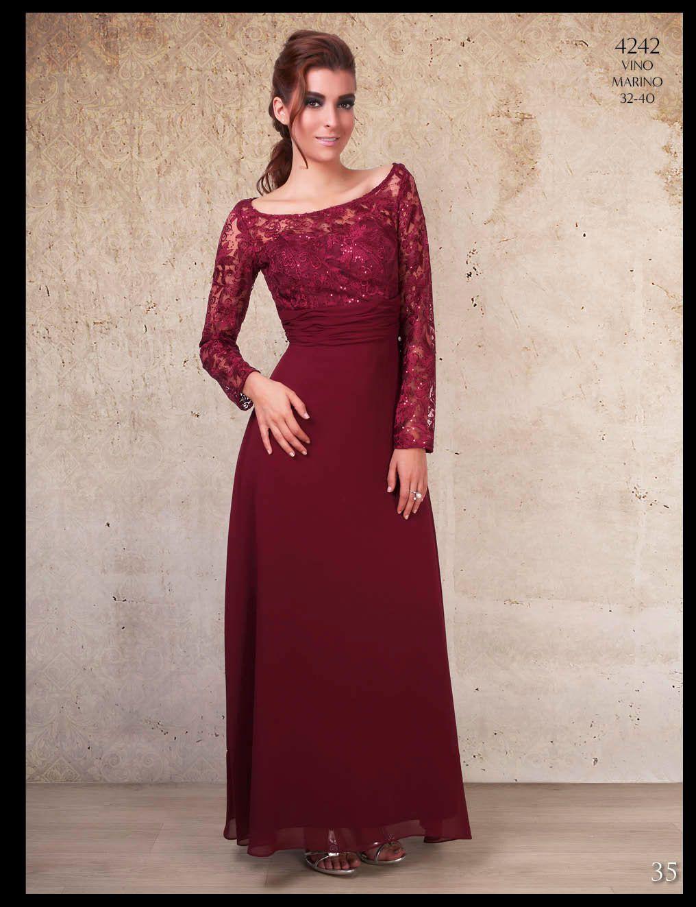 Vestido Vino Vestidos De Noche Elegantes Vestidos Vino Y