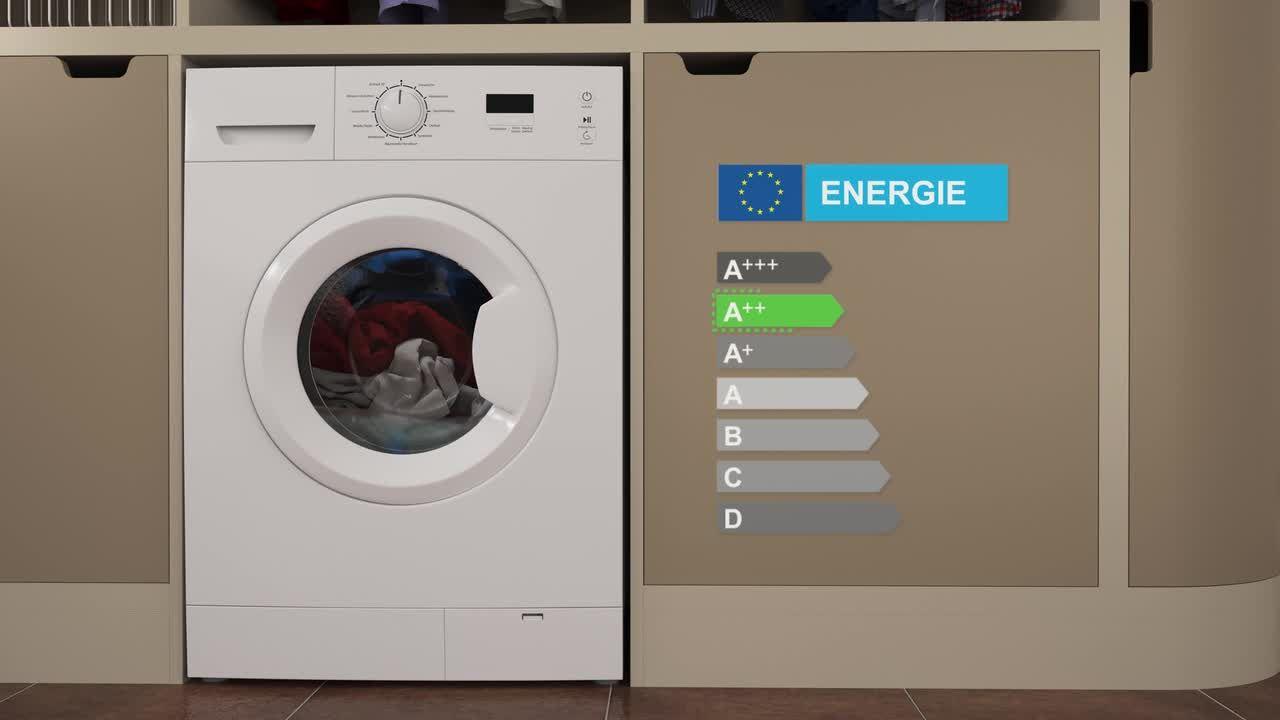 Hisense WFU 6012 WE Slim Waschmaschine 6 kg, 1200 U/Min