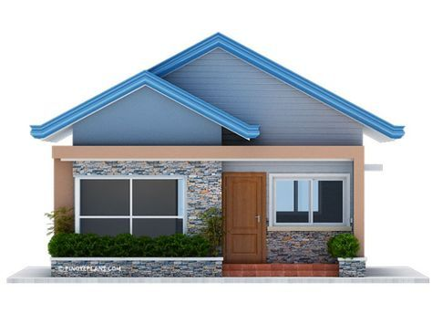 Best Three Bedroom Bungalow House Plan Shd 2017032 Kiến Trúc 400 x 300