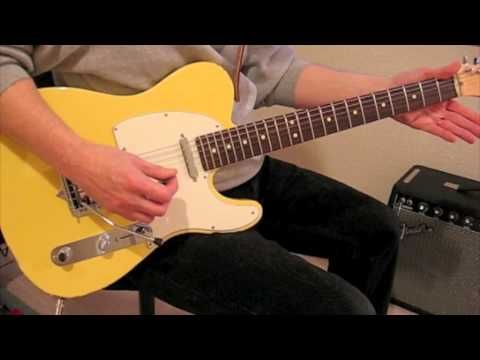 how to play brown sugar on open tuning