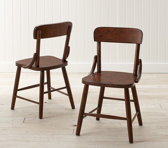Hudson Kid Chair Set Of 2 Collection Pottery Barn Kids