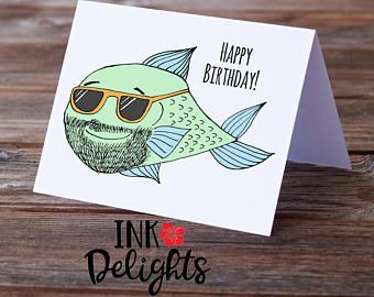 Male Birthday Cards Funny ~ Pig birthday card kawaii birthday card card for her modern