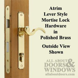 Atrium Door Lock Hardware Set Polished Brass By Atrium 89 95 Replaces Atrium Lock Brand Hinged Patio Glass Doo Mortise Lock Patio Door Locks Replace Door