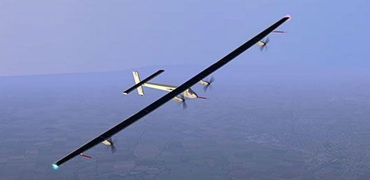 Aeroplano che utilizza solo moduli fotovoltaici http://www.solarimpulse.com/en/airplane/hb-sia/?origin=slider#.Usg1IXVd7Mw