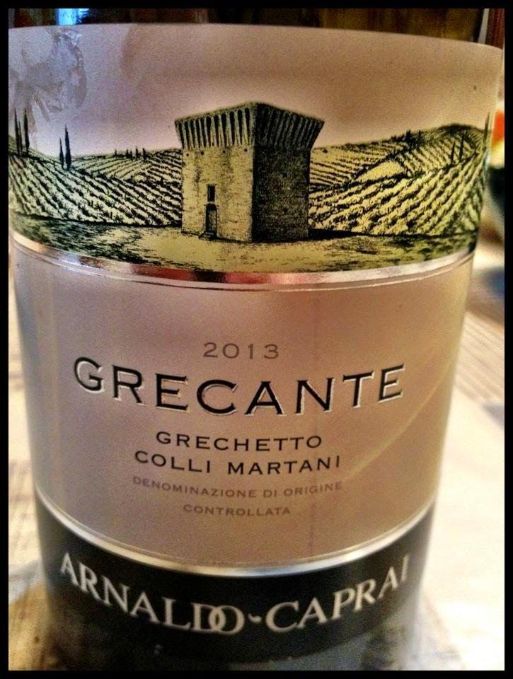 El Alma del Vino.: Azienda Arnaldo Caprai Grecante Grechetto Colli Martani 2013.