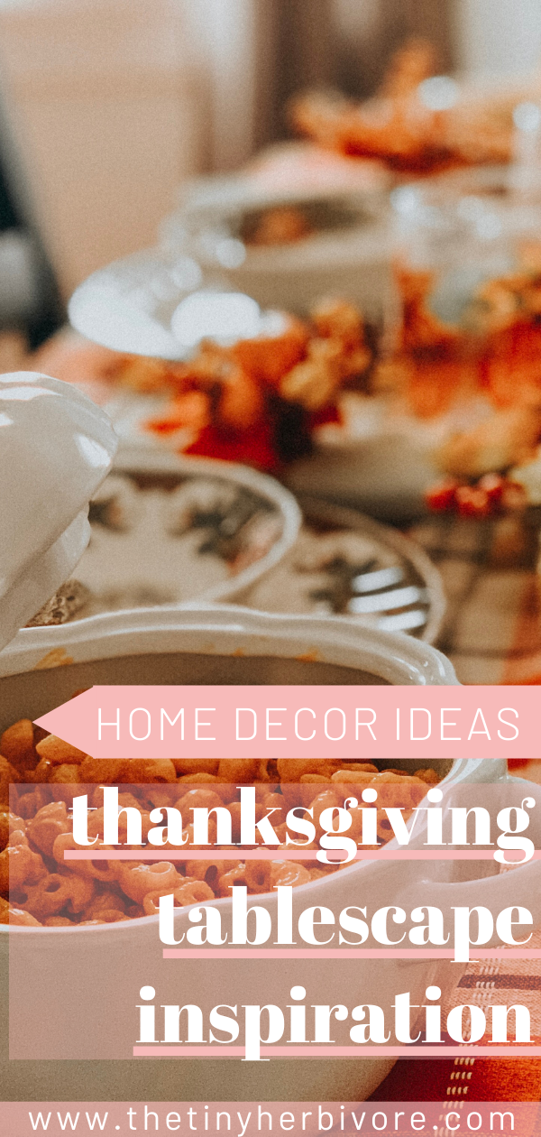 Thanksgiving Tablescape with Christmas Tree Shops andThat! #thanksgivingtableset…