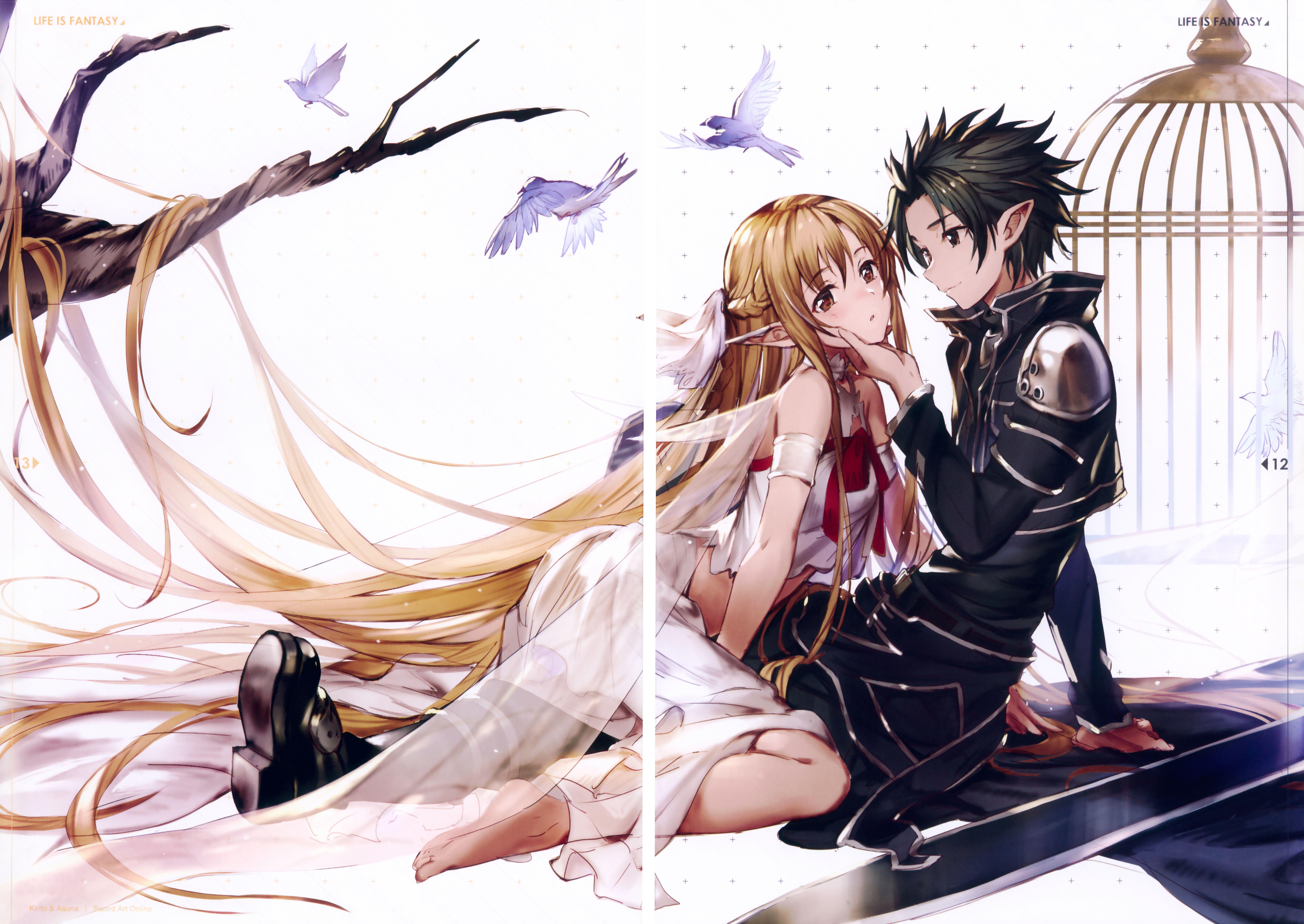 Pinterest Casal anime, Wallpaper animes, Sword art online