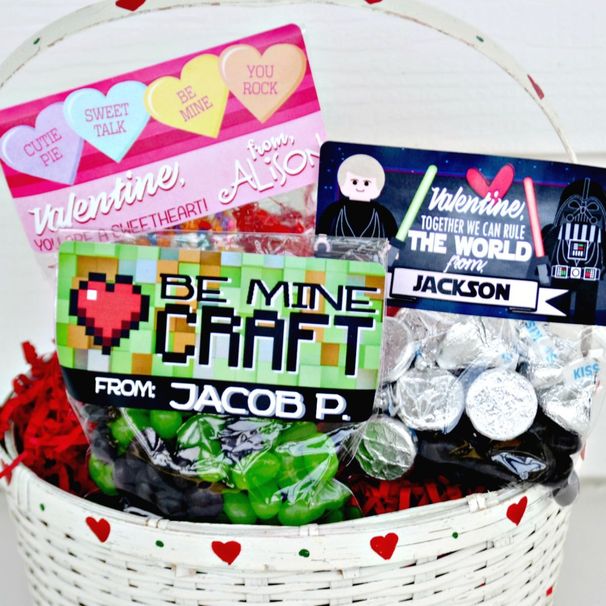 Personalized Valentine Stickers & Bags - 23 Styles! - Photo 2
