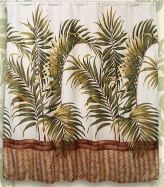 tropical shower curtains | Hawaiian Shower Curtains | Towels | Bath ...