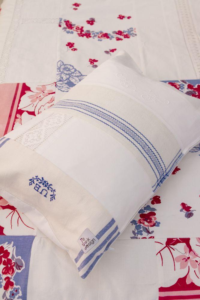 Retro Quilt Pillow