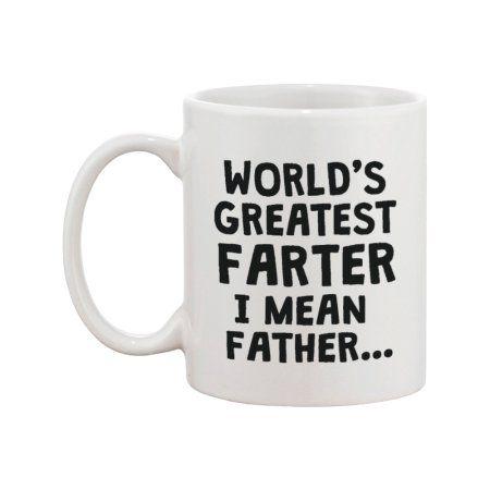 Funny Ceramic Coffee Mug For Dad