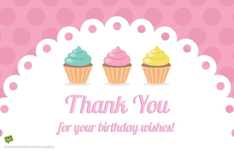 65 thank you status updates for birthday wishes thank